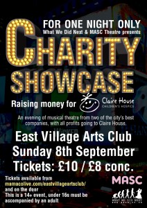 Charity Showcase Poster